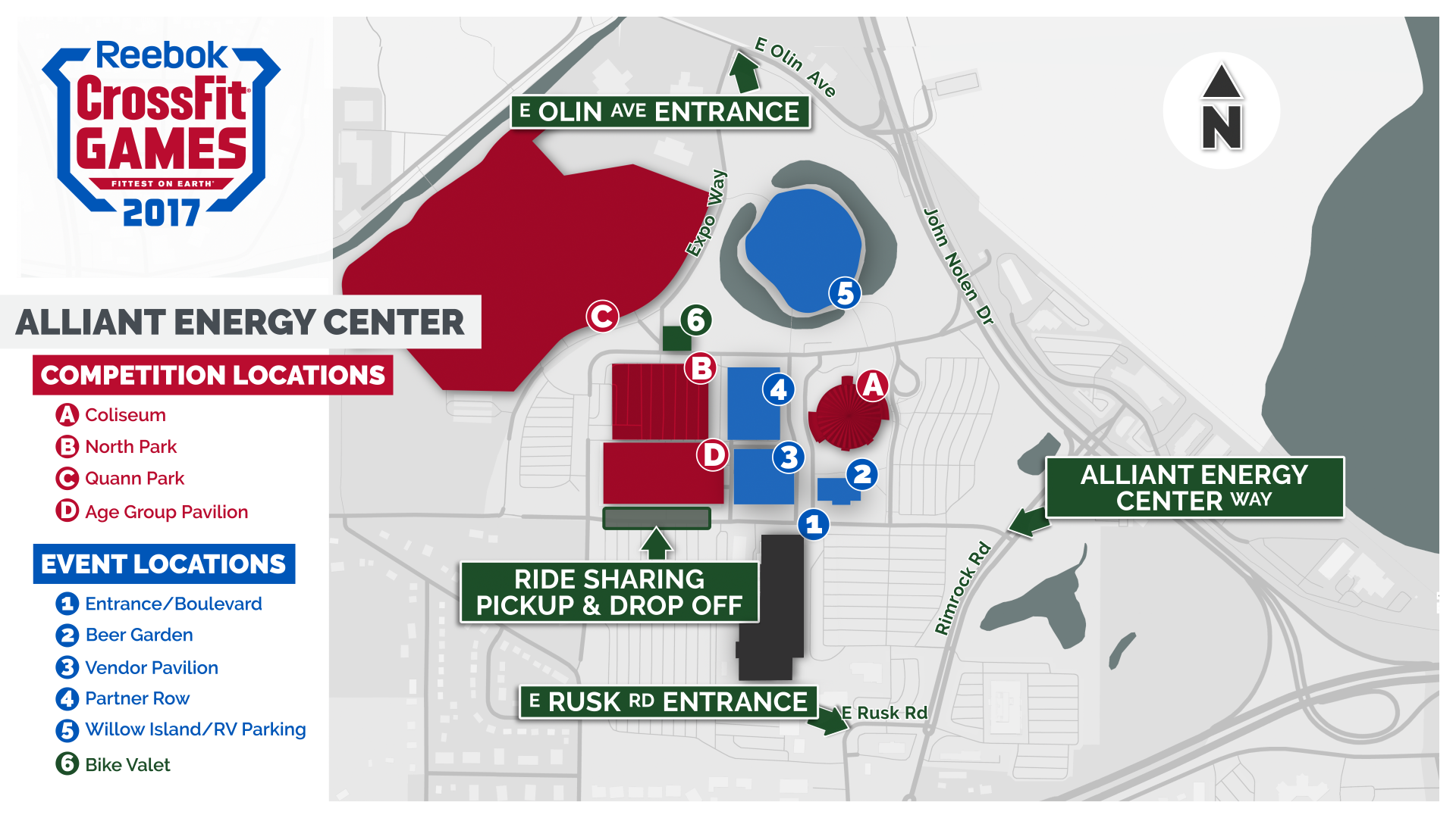 your tickets and parking passes early crossfit games