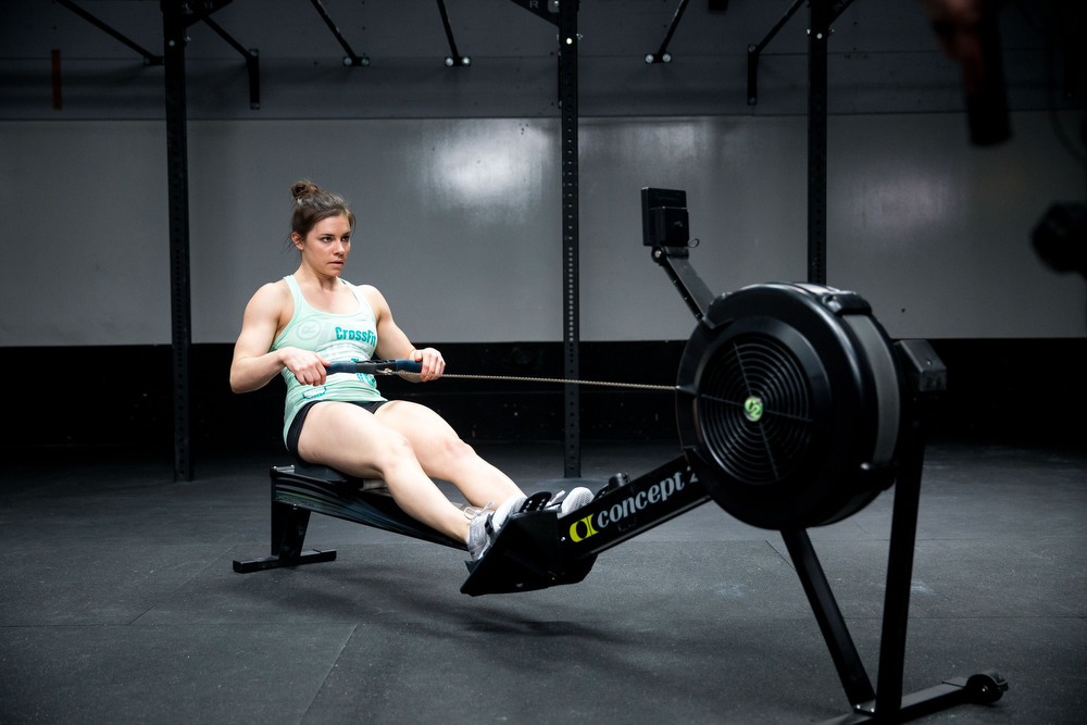 rowing machine workouts crossfit