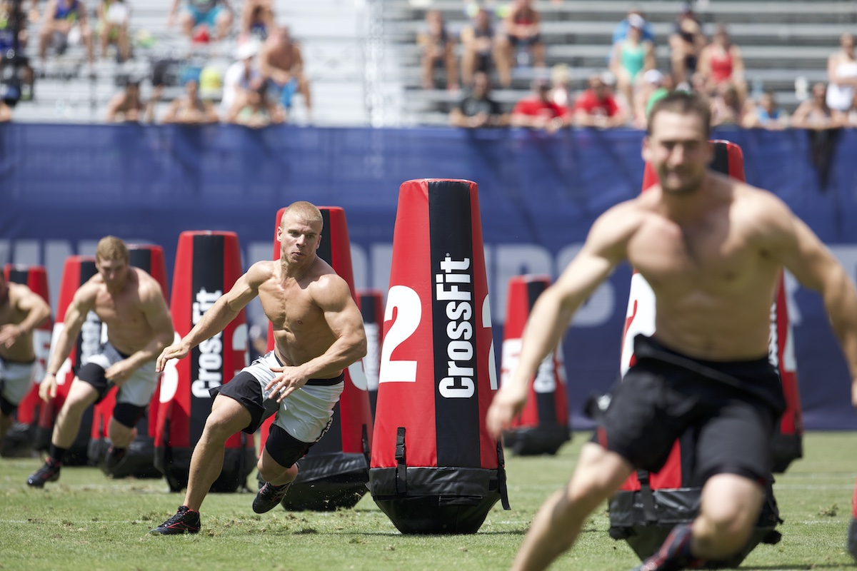 Scott Panchik in ZigZag at the 2013 CrossFit Games