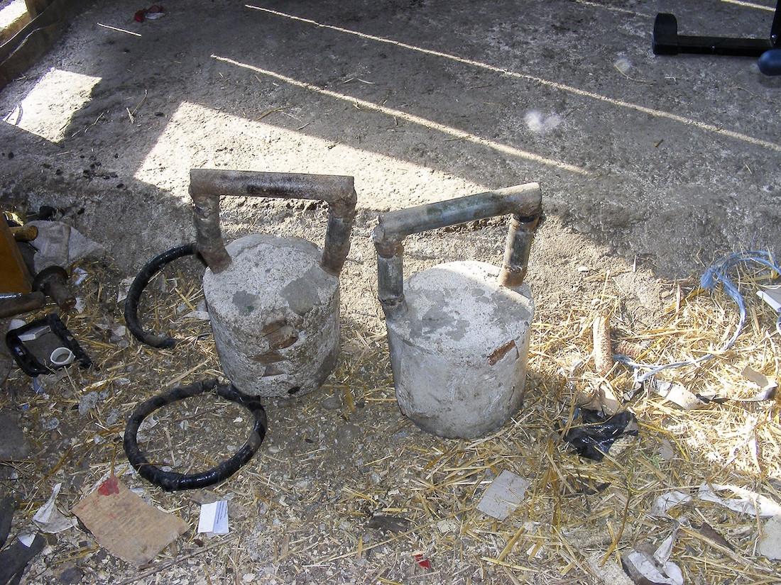 Kettlebell setup
