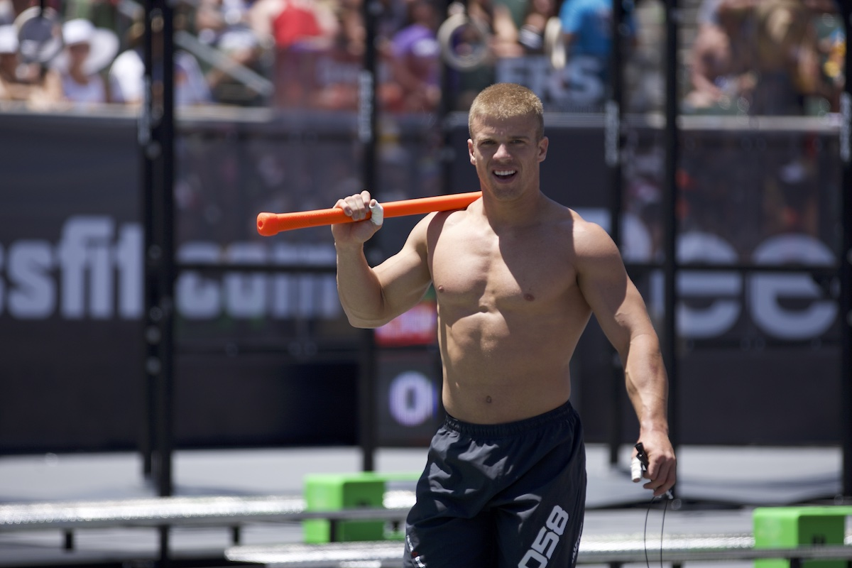 Scott Panchik in Double Banger at the 2012 CrossFit Games