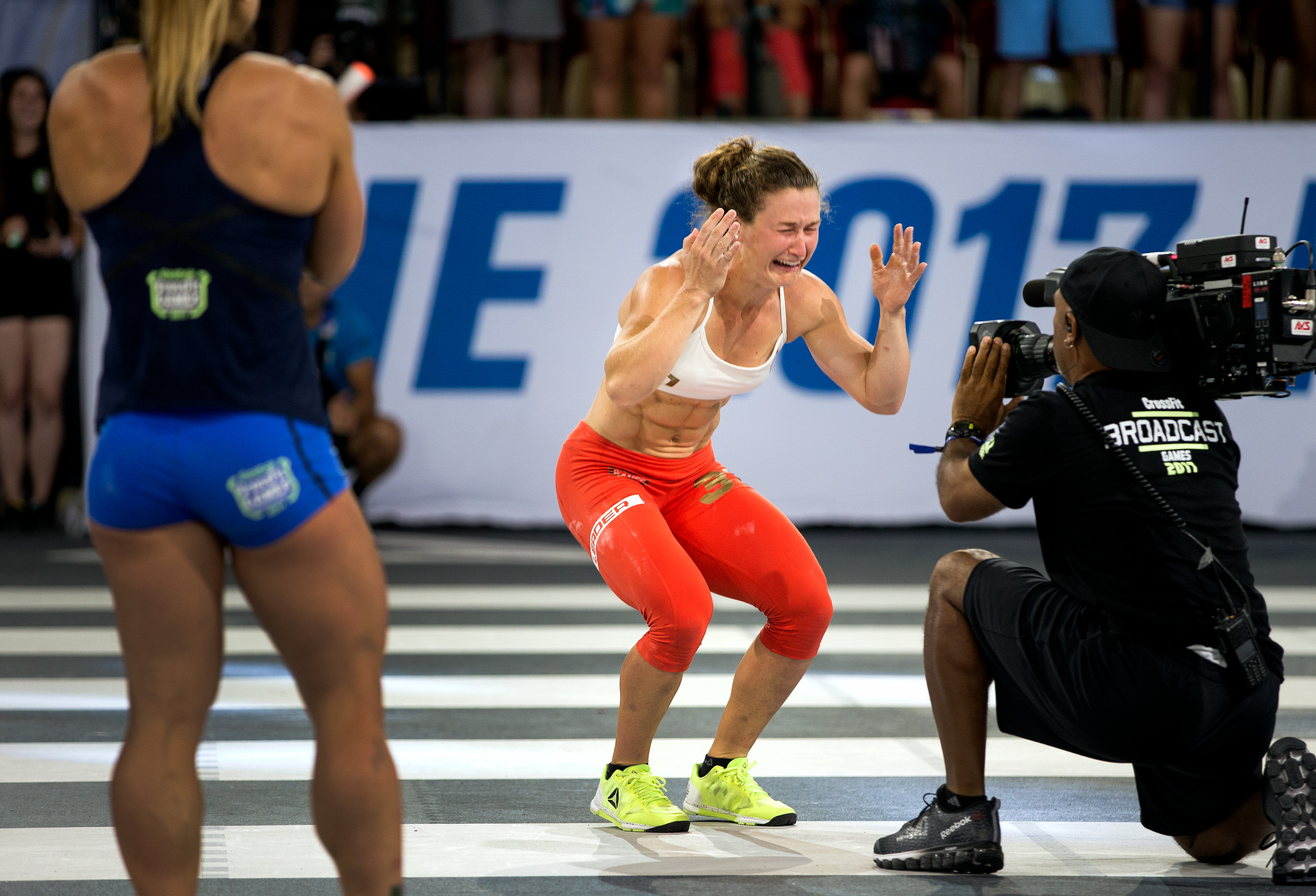 The moment Tia Toomey was crowed Fittest Woman on Earth in 2017