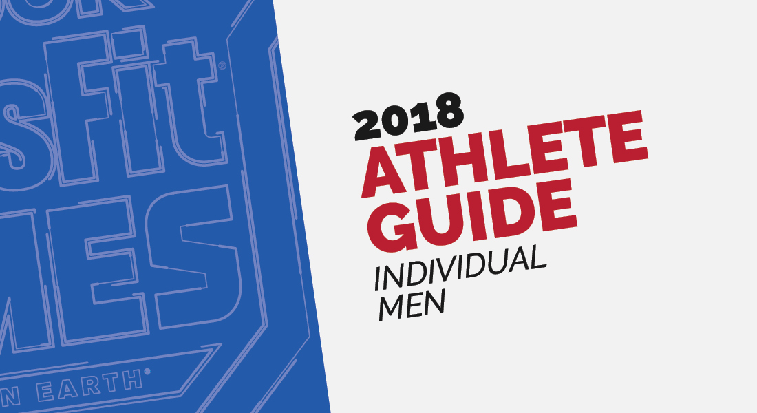 2018 Athlete Guide - Individual Men