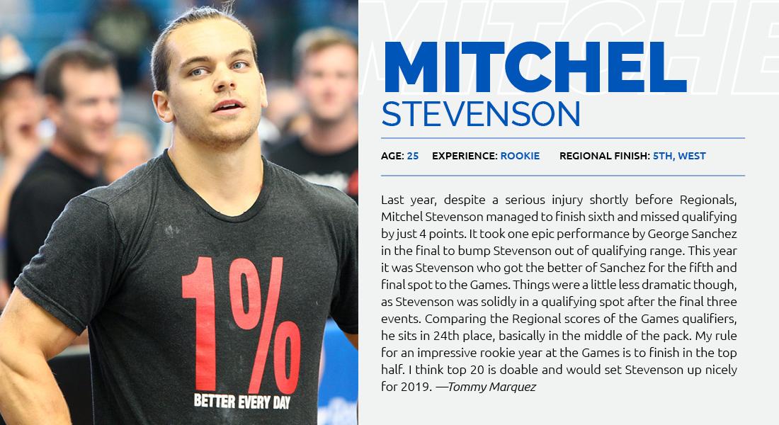 Mitchel Stevenson