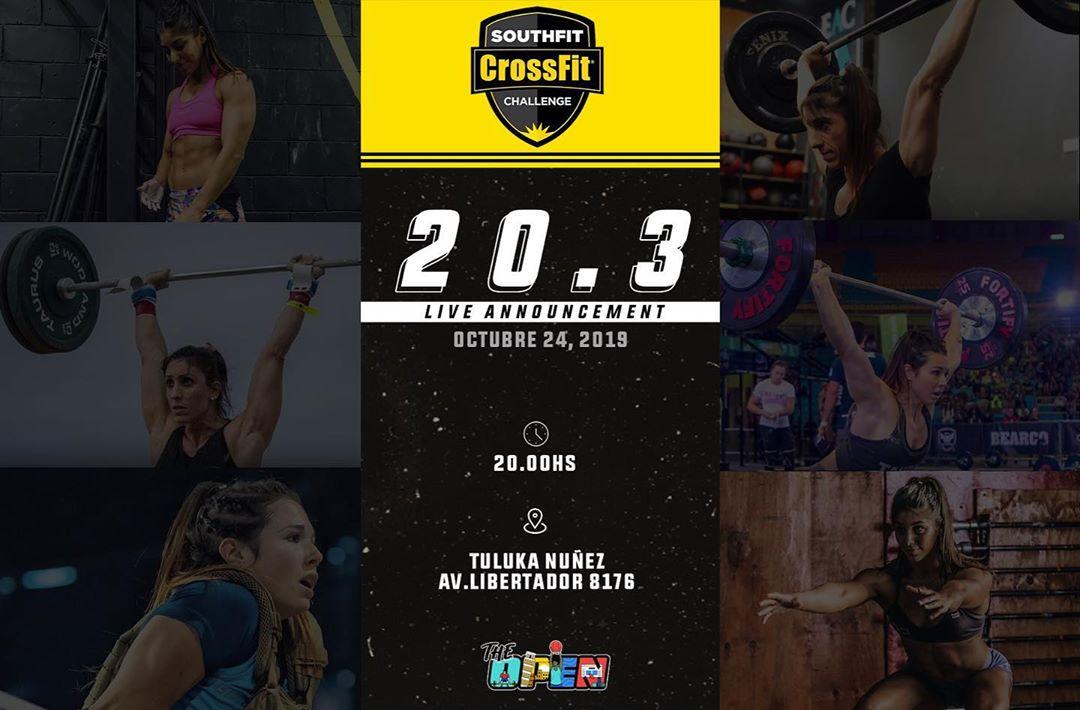 SouthFit CrossFIt Challenge - 20.3