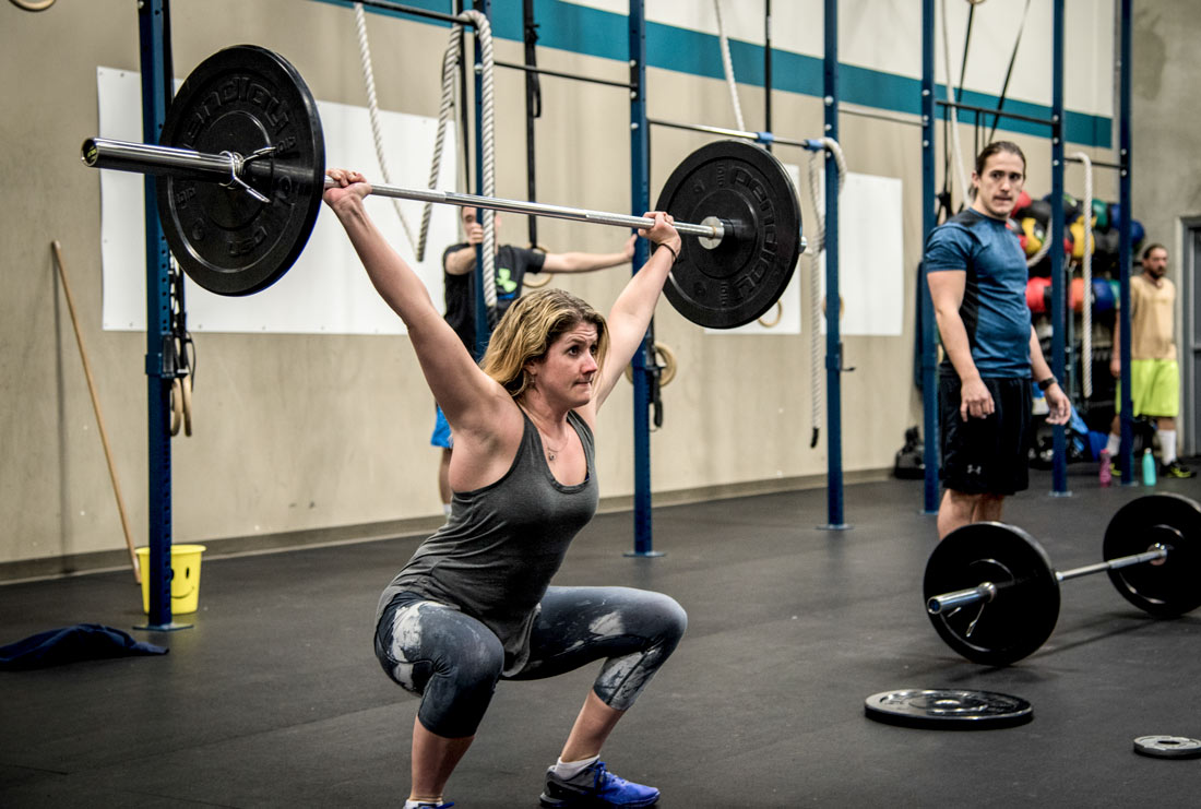 Bedrock CrossFit athlete
