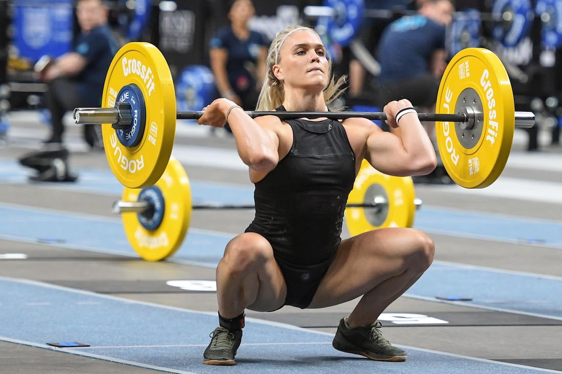 Davidsdottir in black