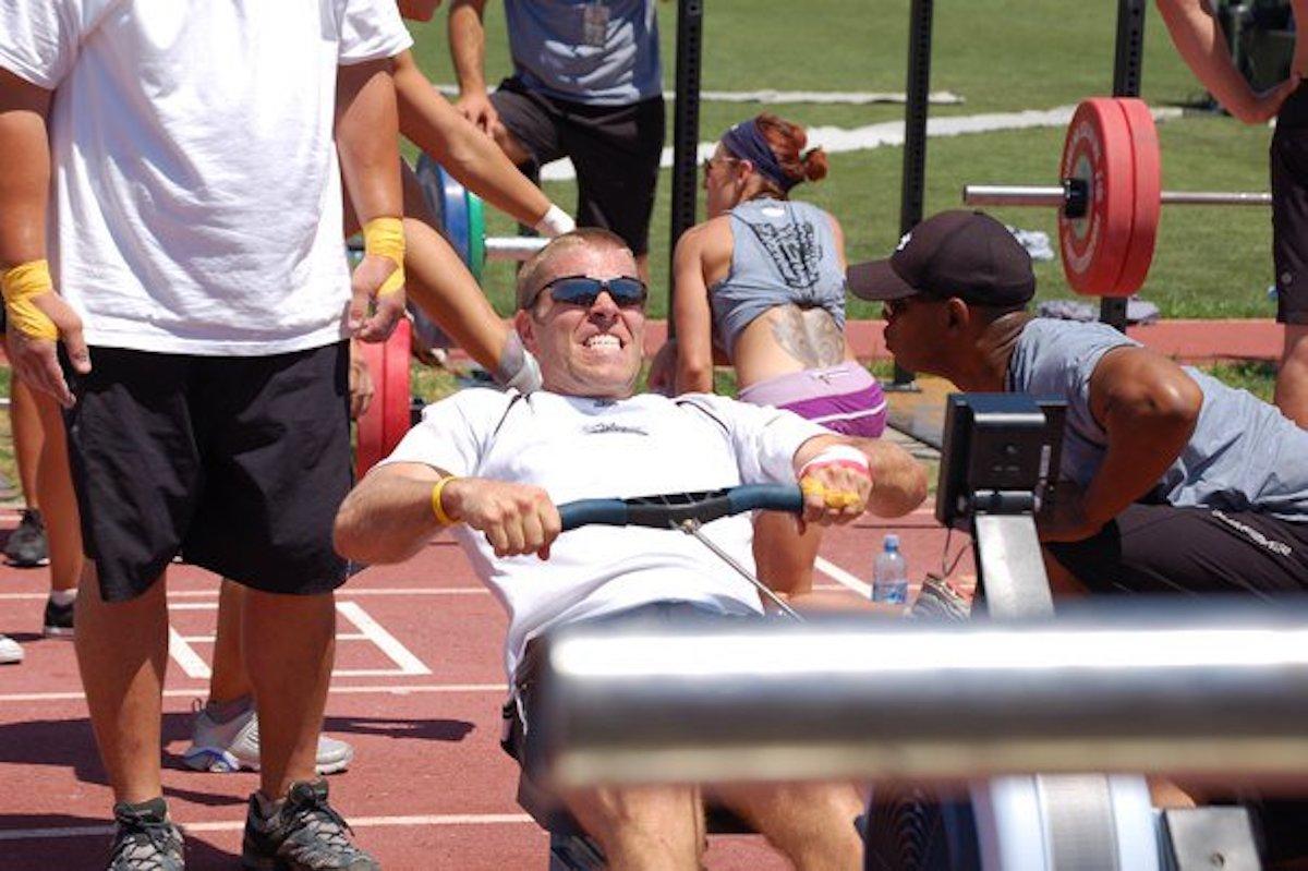 Daniel Finck at the 2010 CrossFit Games