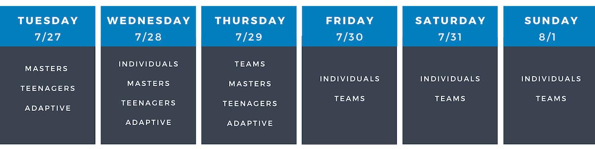 Division Schedule