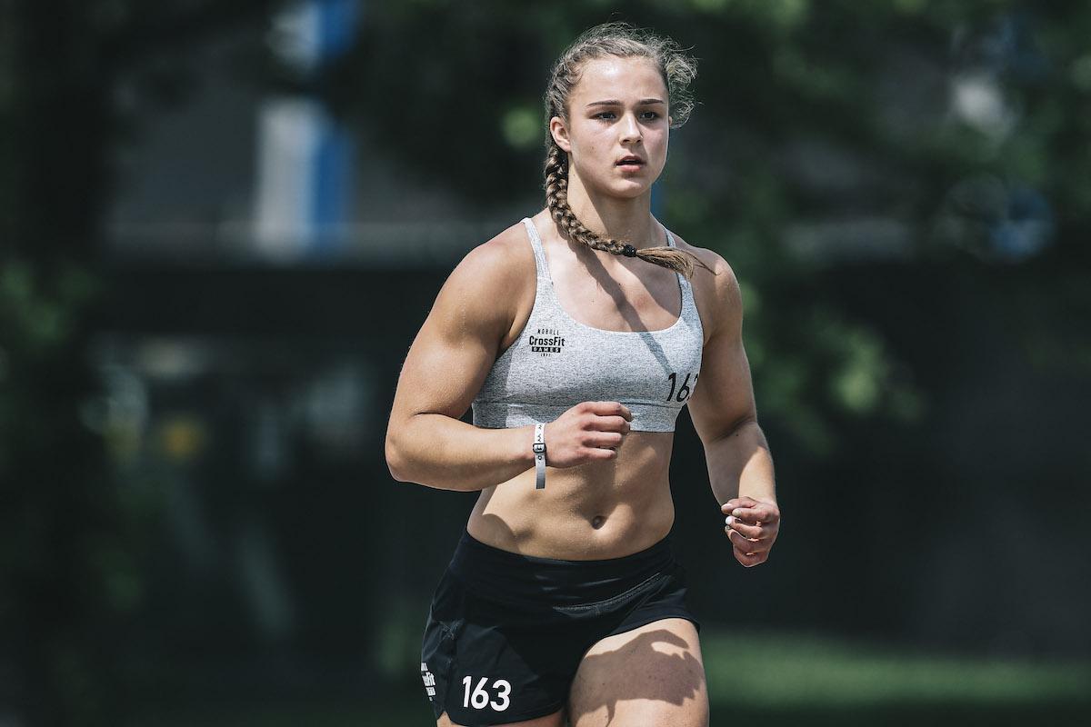 Olivia Sulek at the CrossFit Games