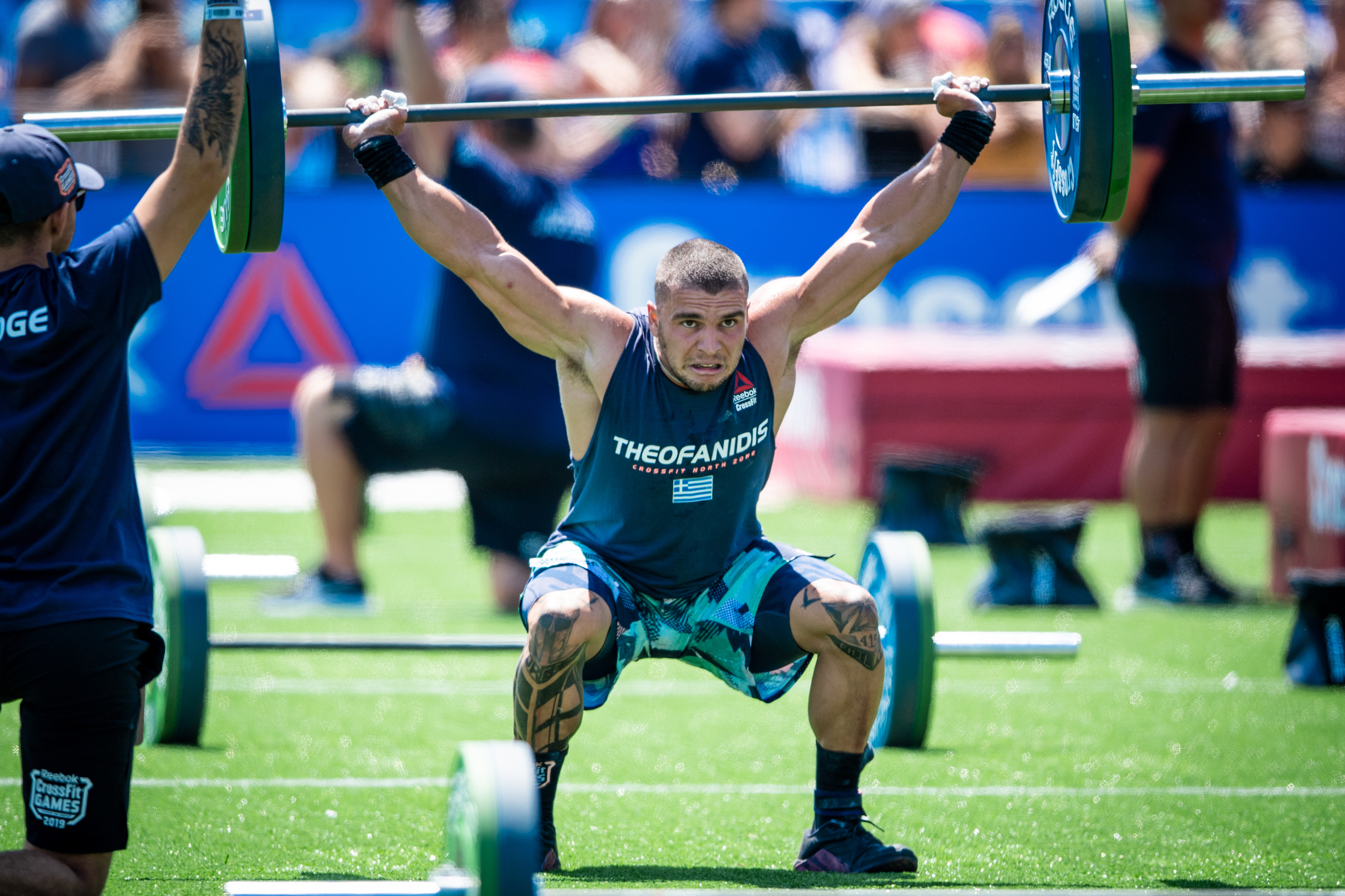 Lefteris Theofanidis is in breach of the CrossFit Drug Testing Policy