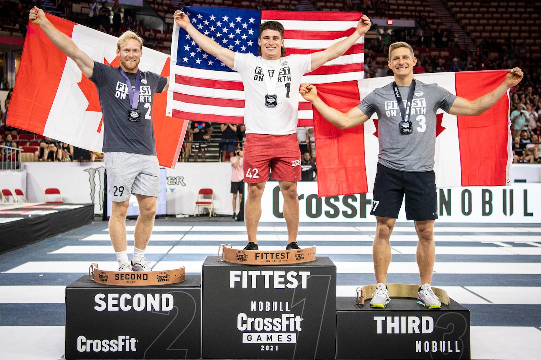 Men's CrossFit Games Podium