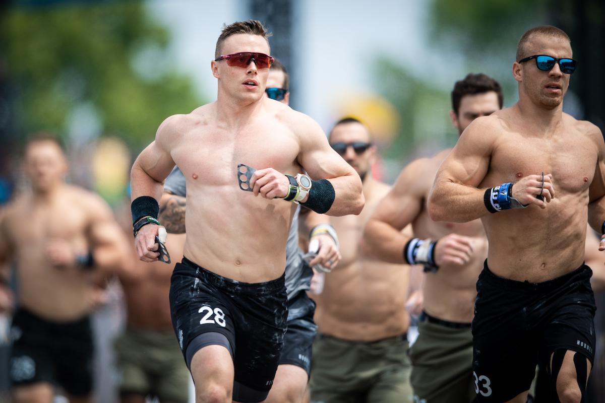 Bjorgvin Karl Gudmundsson at the CrossFit Games