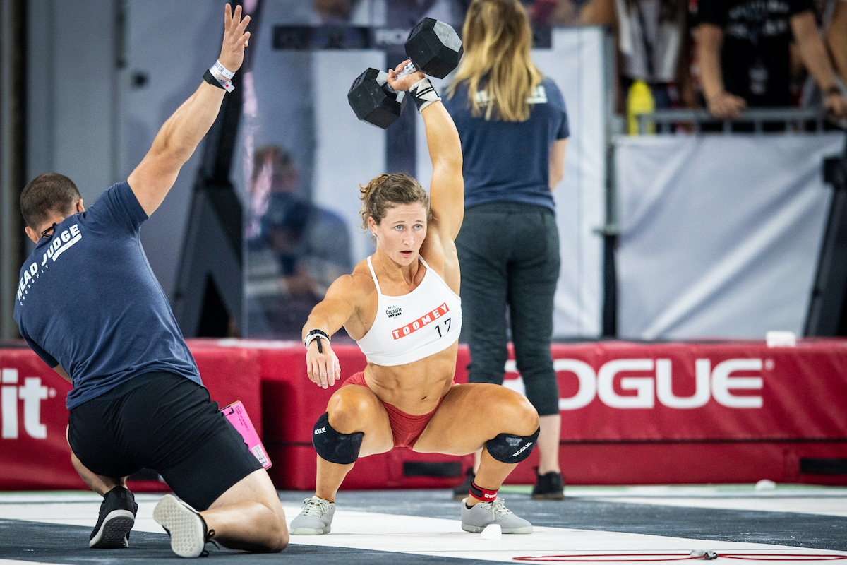 Tia-Clair Toomey at the CrossFit Games
