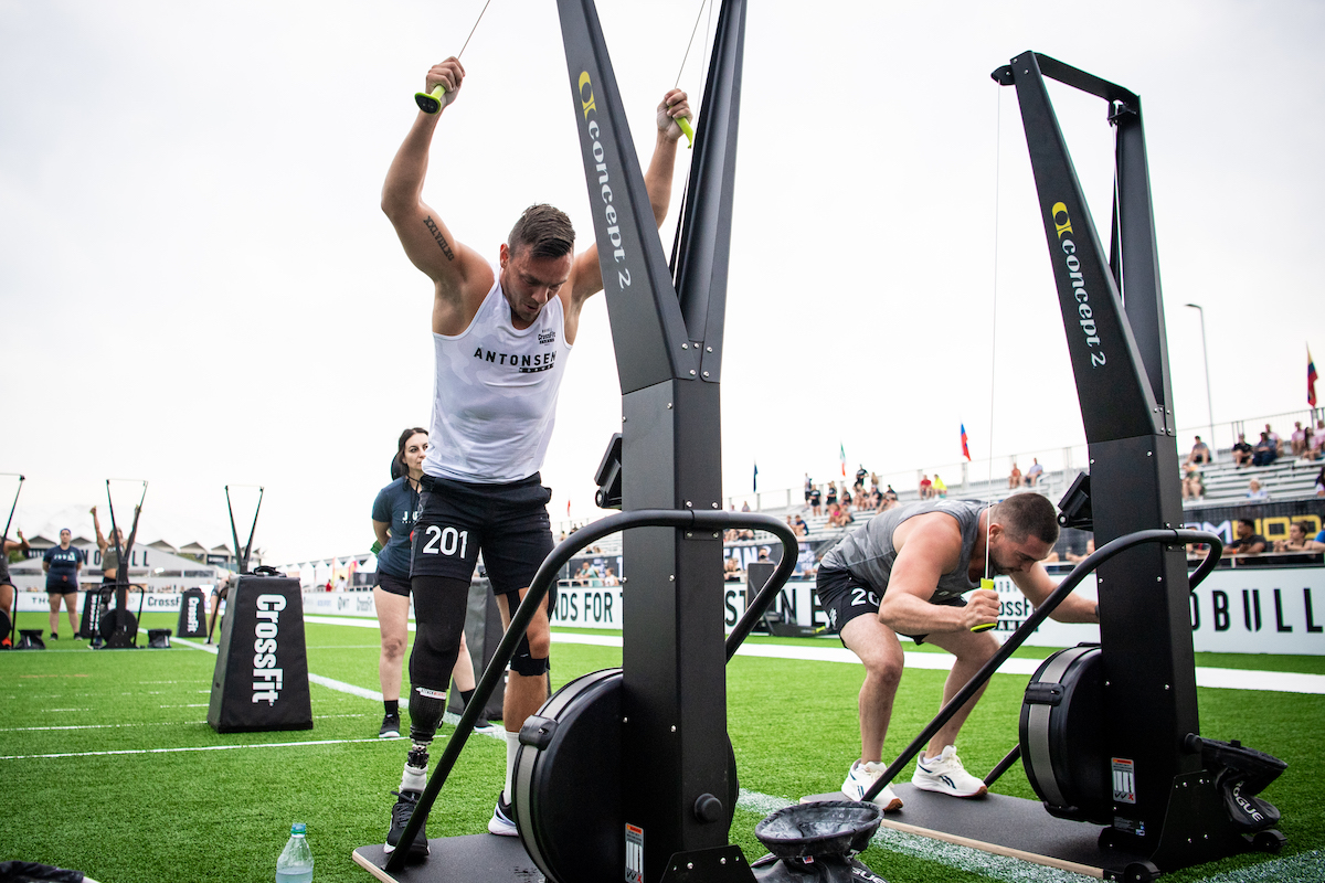 Ole Kristian Antonsen at the CrossFit Games