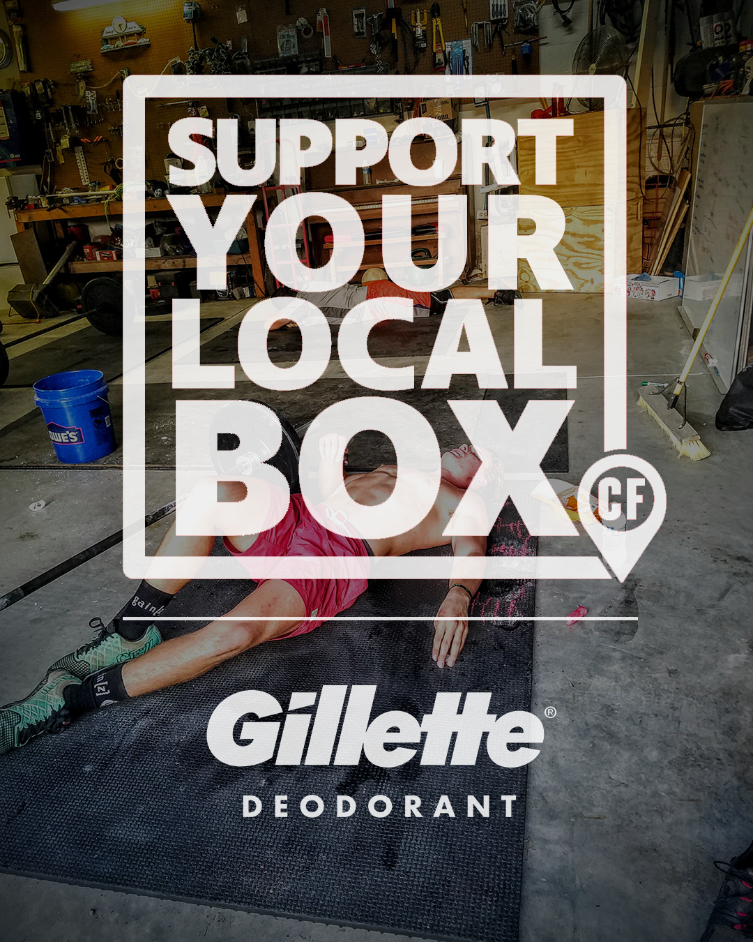 Gillette Deo Match Support Your Local Box