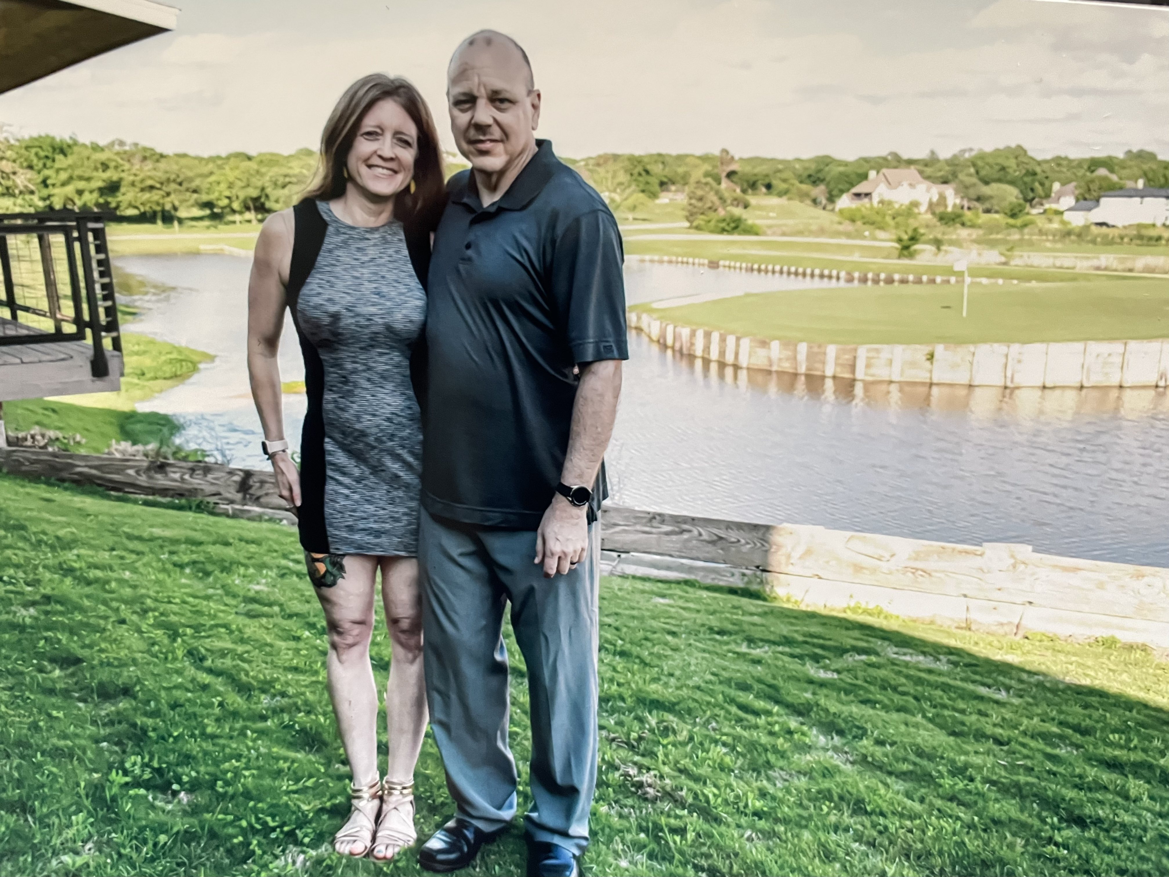 Shingledecker and her husband, Roger