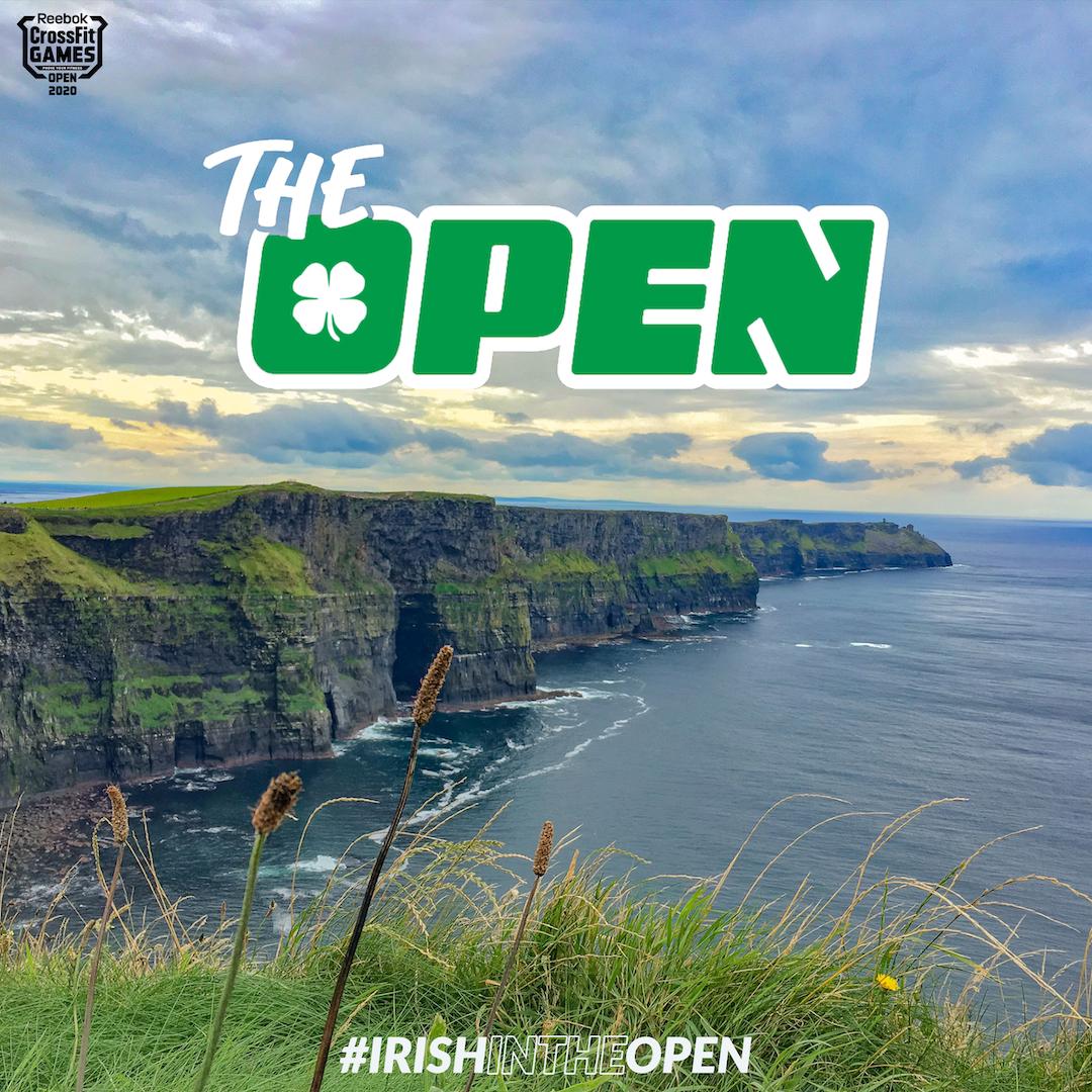 Irish in the Open