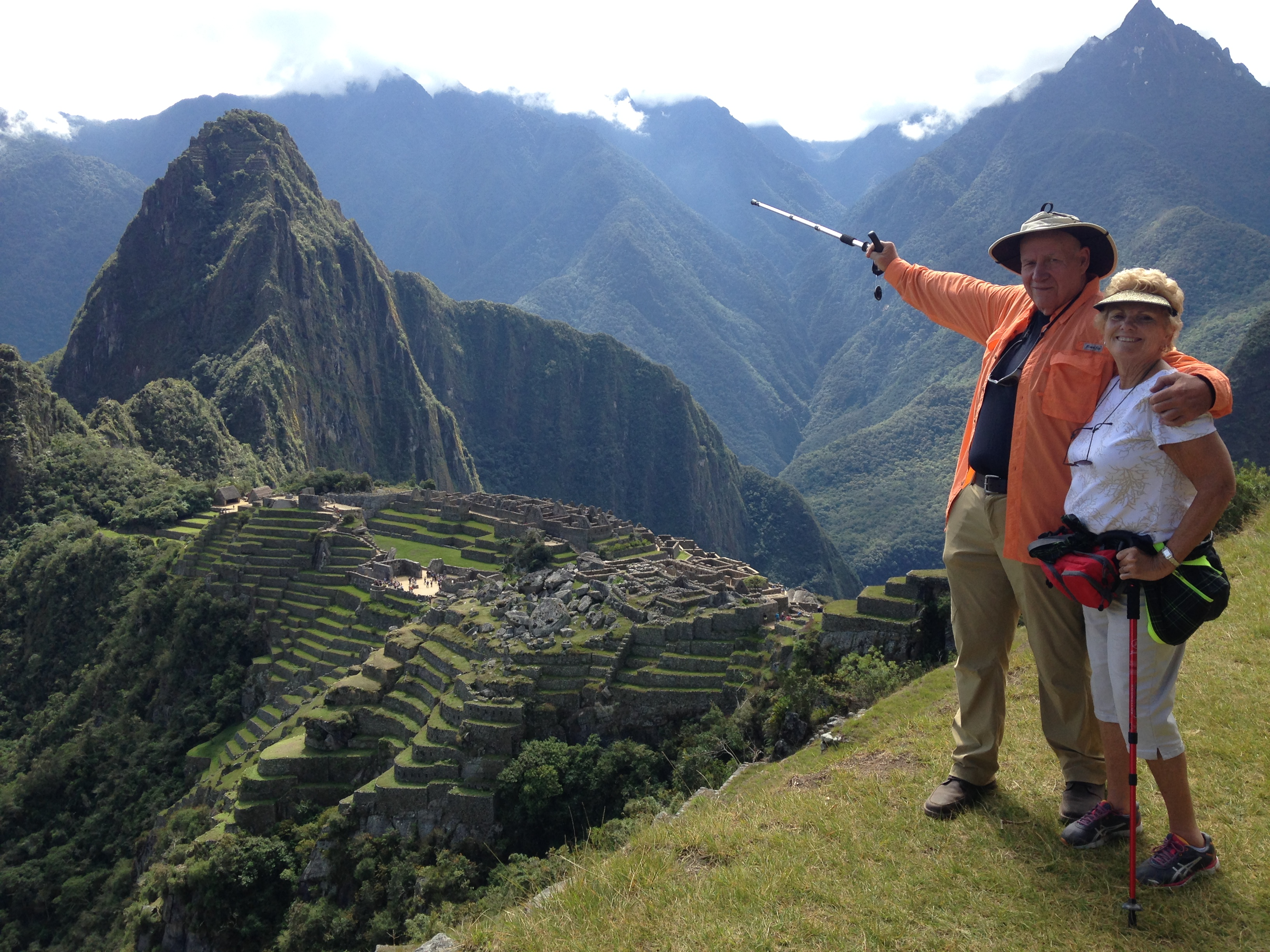 Joe Carey and wife Dorothy Carey Machu Picchu
