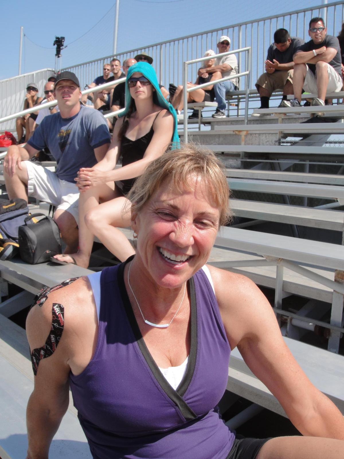 Kathy Miller at the 2011 CrossFit Games