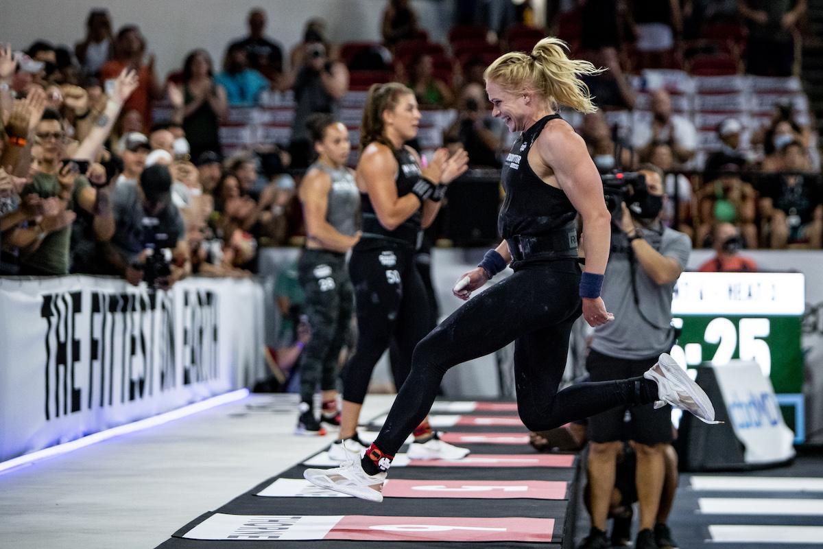 Annie Thorisdottir at the CrossFit Games