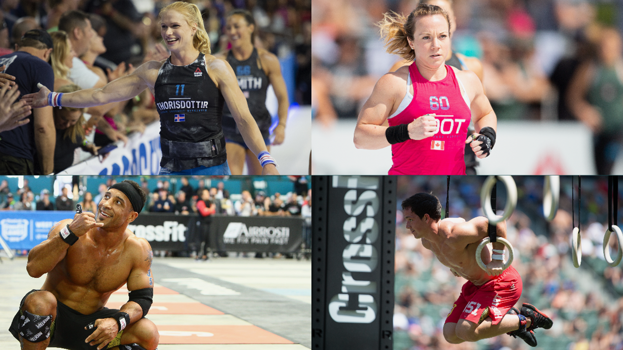 Member's of CrossFit's Athlete Advisory Council