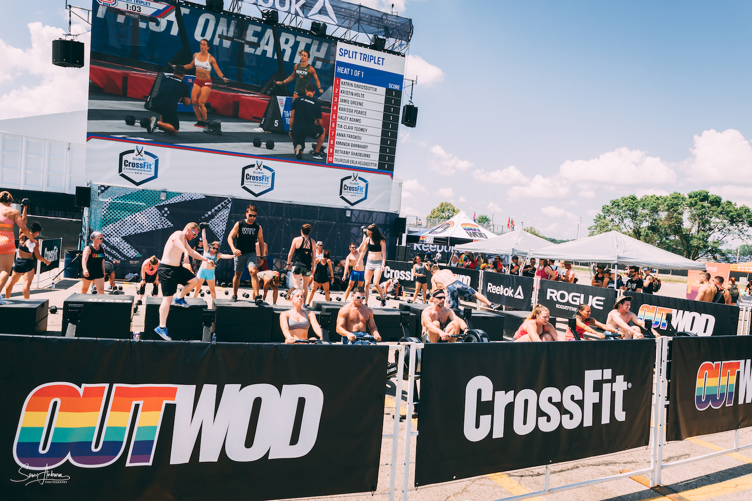 OUT at the CrossFit Games
