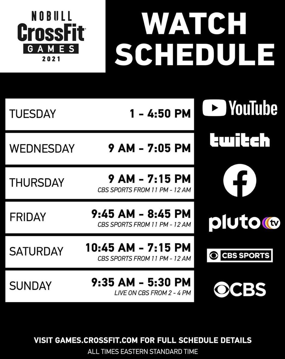 Watch Schedule