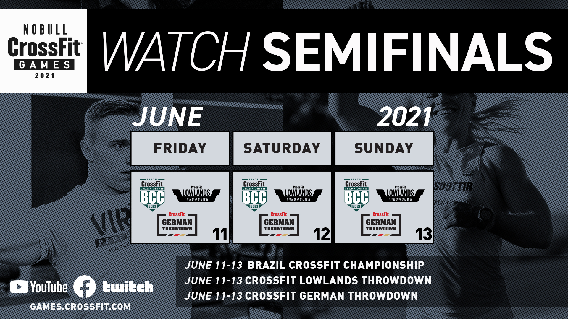 Week 3 Semifinals How to Watch
