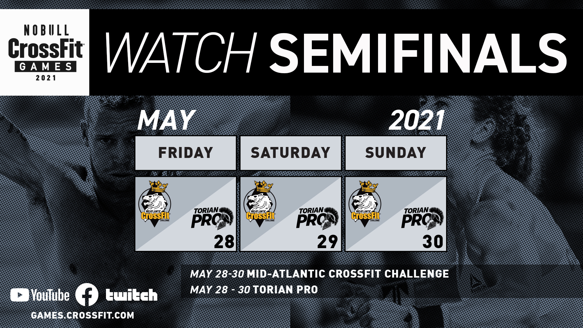 Week 1 How to Watch Graphics Semifinals