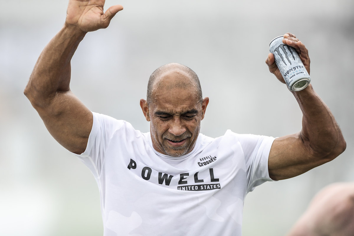 Will Powell at the CrossFit Games