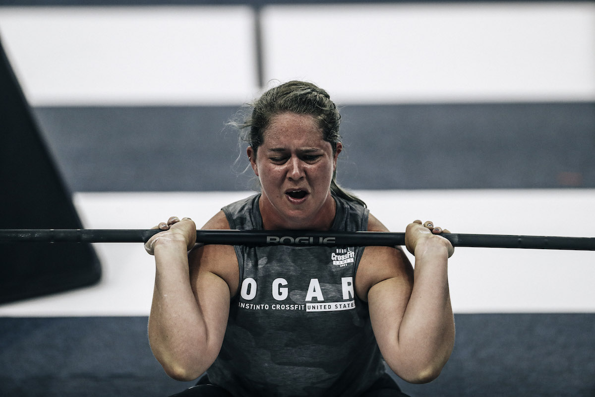 Shannon Ogar at the CrossFit Games