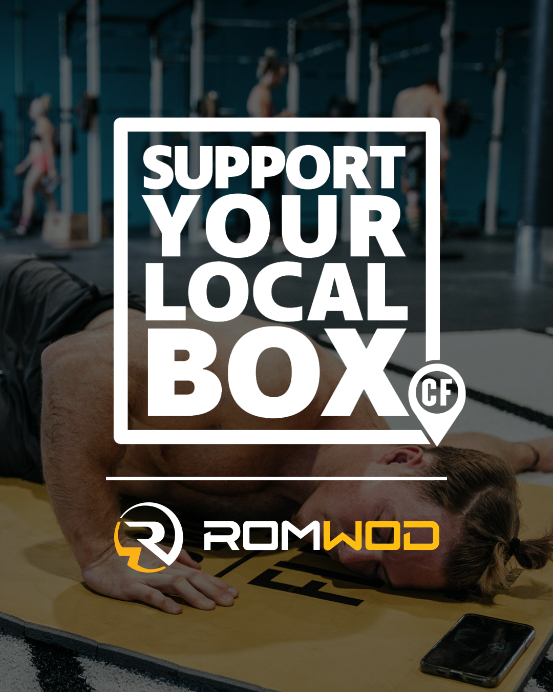 ROMWOD to Match US$25,000 for Support Your Local Box
