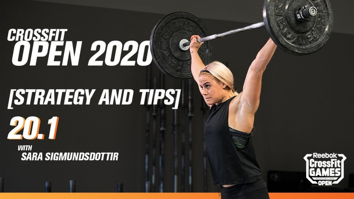 20.1 CrossFit Open - Tips with Sara Sigmundsdót