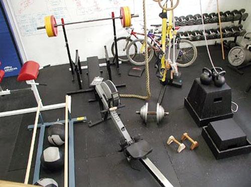 The garage gym