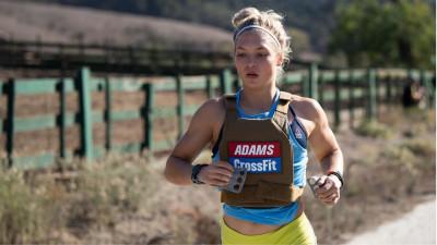 Haley Adams running
