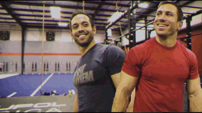Rich Froning and Dan Bailey