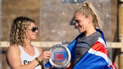 2020 Spirit of the Games Award Winner—Katrin Davidsdottir
