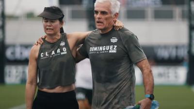 Casal Chileno Compite Juntos en los Games