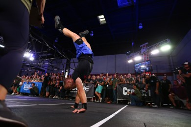 Scott Panchik handstand walking.