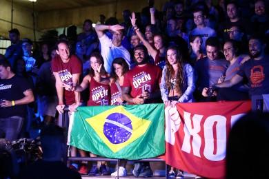 The crowd in São Paulo, Brazil