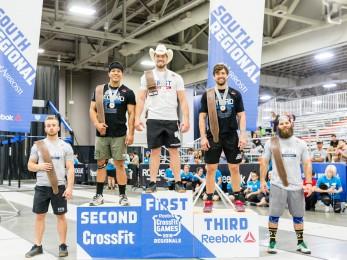 Men's podium