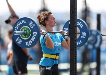 Tia-Clair Toomey during the CrossFit Total