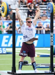 Noah Ohlsen during the CrossFit Total
