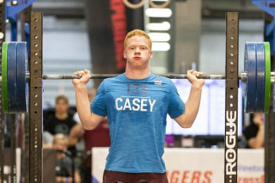 Noah Casey of the Boys 16-17 Division