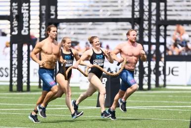 CrossFit Melbourne during Team Triplus