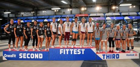 The Masters Women Podium Finishers