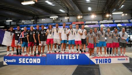 The Masters Men Podium Finishers