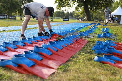 Flippers used in Event 1