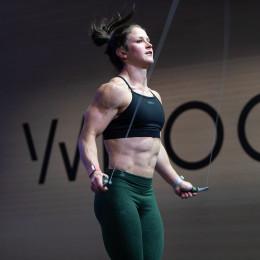 Kari Pearce during Open Workout 21.1